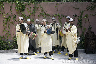 Traditional Moroccan Musicians Editorial Image