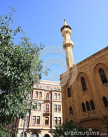 Traditional Mosque, Beirut- Lebanon