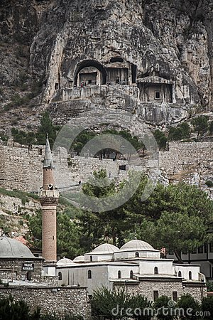 Free Traditional Mosque In Amasya, Stock Photography - 35600242