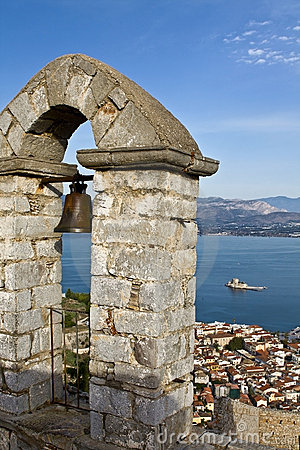 Traditional Nafplio city at Peloponnese, Gre