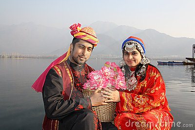 Traditional North Indian Couple