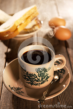 Free Traditional Oriental Chinese Coffee And Breakfast Royalty Free Stock Photography - 57896957