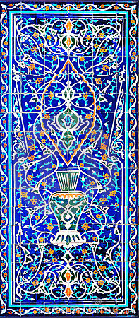 Free Traditional Ornament Of Ceramics At The Mosque Royalty Free Stock Photo - 15787985