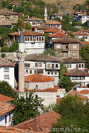 Free Traditional Ottoman Houses Royalty Free Stock Photo - 22755605