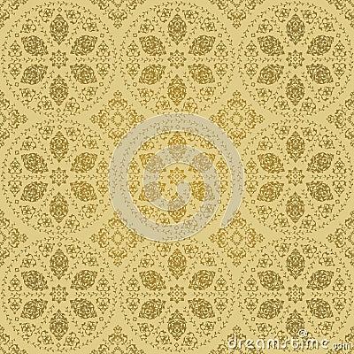 Traditional ottoman turkish seamless design