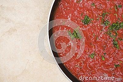 Traditional pasta sauce
