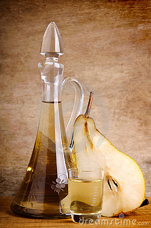 Free Traditional Pear Brandy Stock Images - 17684544