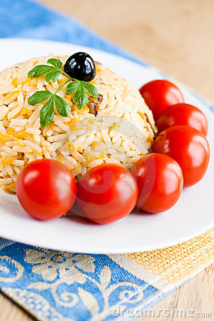 Traditional pilaf