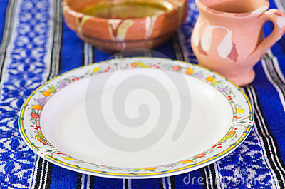 Traditional plate