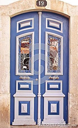 Traditional portuguese door