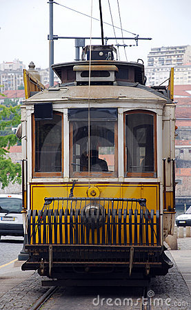 Free Traditional Portuguese Tram(Portugal) Stock Photos - 15808203