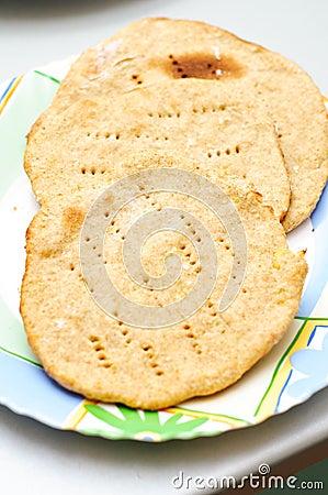 Traditional potato finnish bread