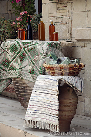 Traditional products shop in Crete Editorial Photo