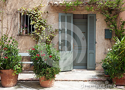 Traditional provencal home