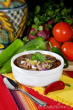 Traditional Red Chili & Beans