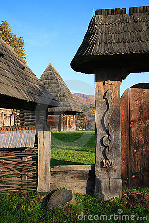 Traditional romanian architecture