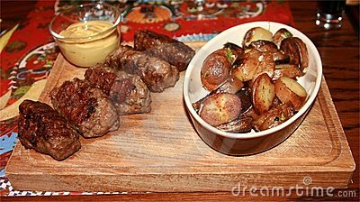 Traditional romanian food