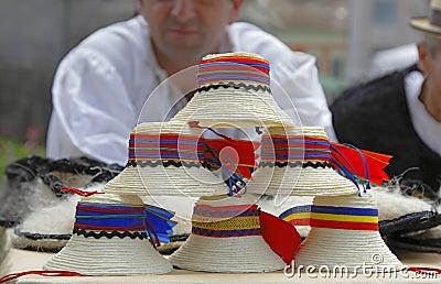 Traditional Romanian hats