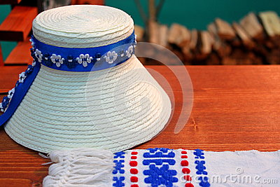 Traditional romanian hat
