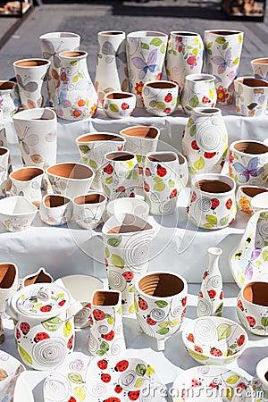 Traditional Romanian Pottery