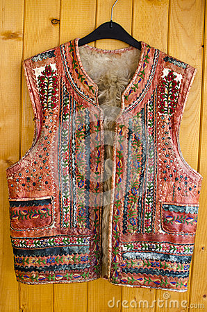 Traditional Romanian Vest