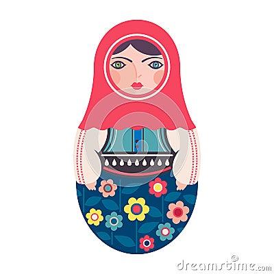 Free Traditional Russian Matryoshka Nesting Doll Royalty Free Stock Images - 115135249