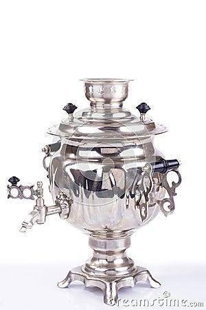 Traditional russian tea kettle