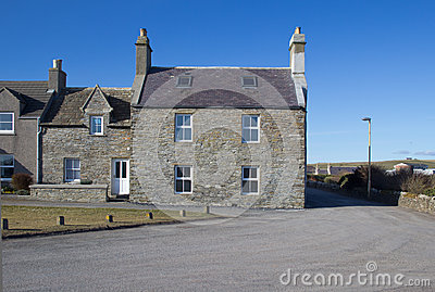 Traditional Scottish houses
