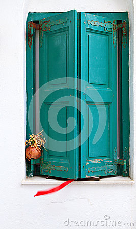 Traditional shutters from Greece