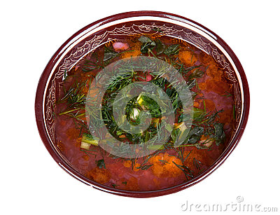 Traditional soup kharcho