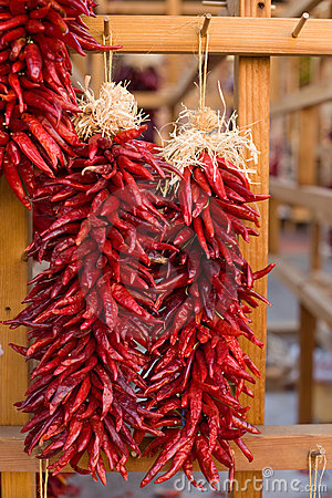 Free Traditional Southwest Chili Decorations Royalty Free Stock Images - 8708889