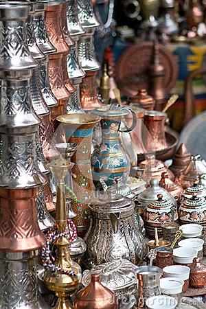 Traditional souvenirs from Sarajevo.