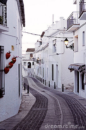Traditional Spanish village