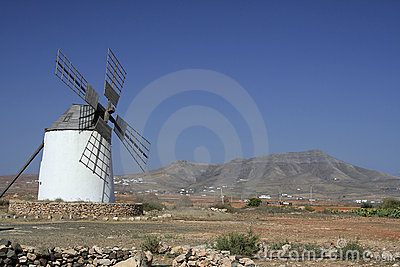 Traditional Spanish Windmill, left of frame