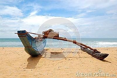 The traditional Sri Lanka s boat