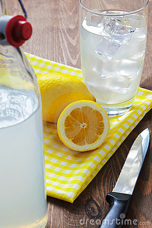 Traditional still lemonade
