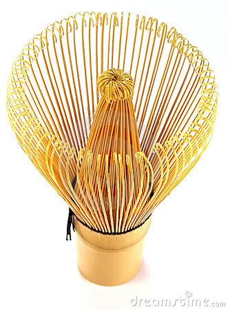 Traditional tea whisk