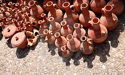 Traditional Terracotta Pottery, Lebanon