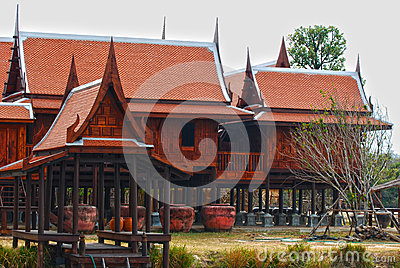 Traditional Thai house HDR