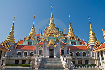 Traditional Thai style architecture