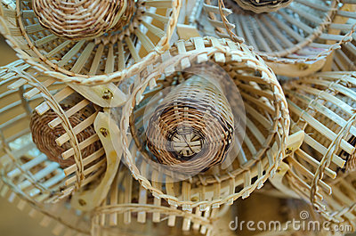 Traditional Thai style basketwork