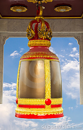 Traditional thai style bell