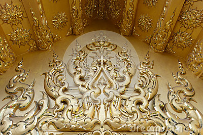 Traditional Thai style pattern decorative