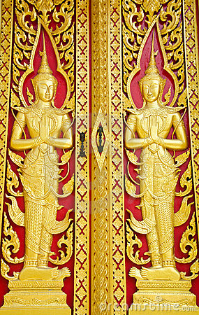 Traditional Thai style woodcraft