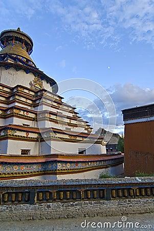 Traditional Tibetan monastery