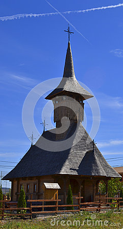 Traditional Transylvanian Wooden Church