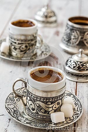 Free Traditional Turkish Coffee Stock Photos - 48420143