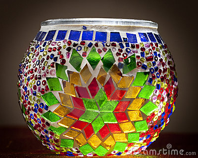 Traditional turkish lamp