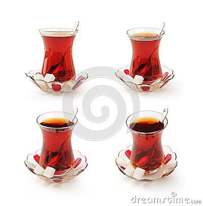 Free Traditional Turkish Tea Stock Photo - 38000640