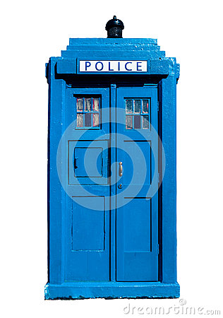 Free Traditional UK Police Box Stock Photos - 59261793